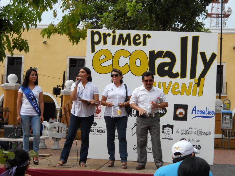 """Valladolid: Realizan actividades para cuidar el medio ambiente """"Eco Rally juvenil"""""""