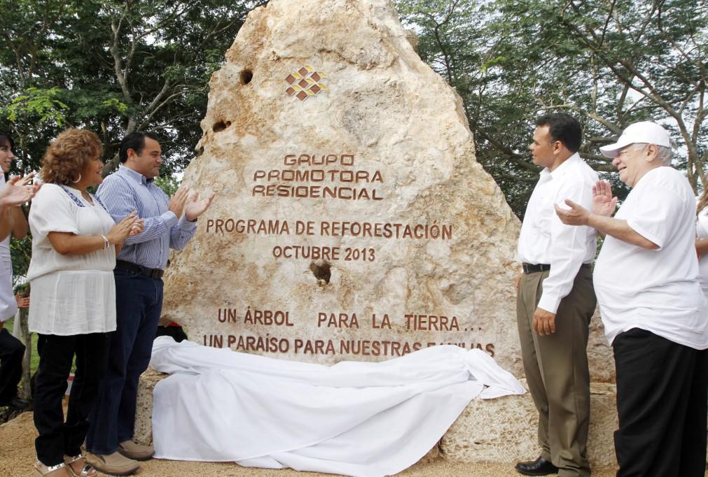 Inauguran parque arqueo-ecológico  en Ciudad Caucel
