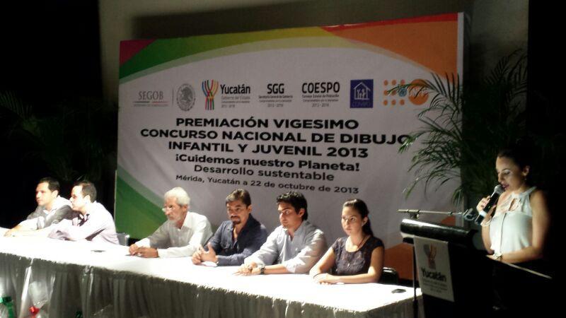 Premian a ganadores  del Concurso Nacional de Dibujo Infantil y Juvenil 2013