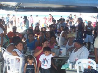 Limpian nuevamente el Puerto del Cuyo