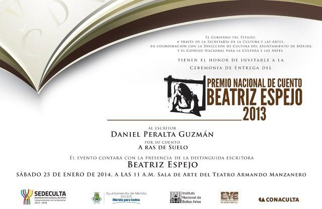 Premian a Tabasqueño en concurso de cuento Beatriz Espejo