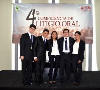 Concluye la 4ª competencia de Litigio Oral