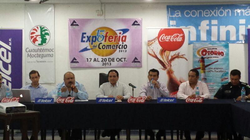 Presentan  la 15 edición de la Expo Feria del Comercio