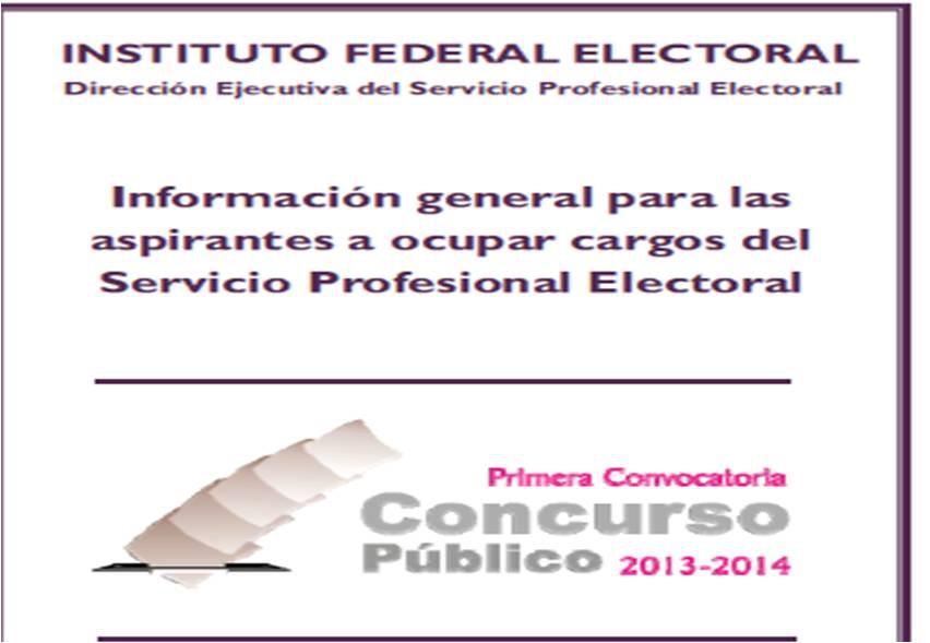 Publicó el IFE la primera convocatoria del concurso 2013-2014 para ocupar plazas vacantes