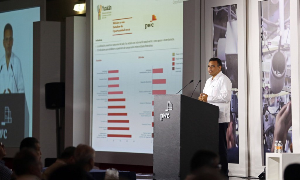 En Yucatán si hay oportunidades de negocio: Rolando Zapata Bello