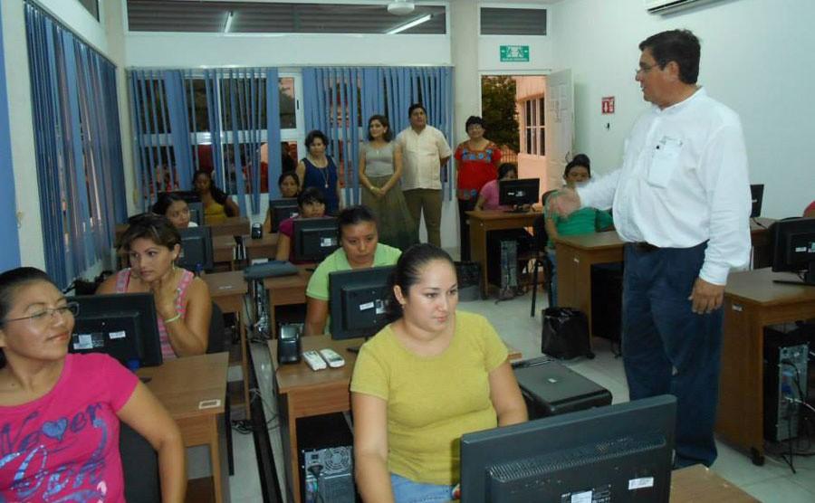 Comienzan cursos del Programa Hábitat en Tizimín