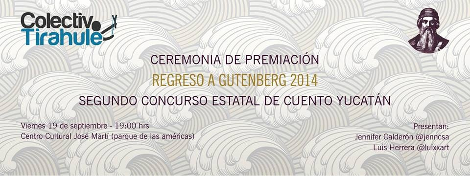 """Presentan a los ganadores del concurso de cuento """"Regreso a Gutenberg"""""""