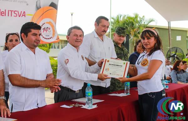 Instituto tecnológico superior de Valladolid celebró 14° años de fundación