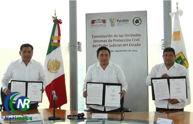 Integra Poder Judicial Unidad Interna de Protección Civil