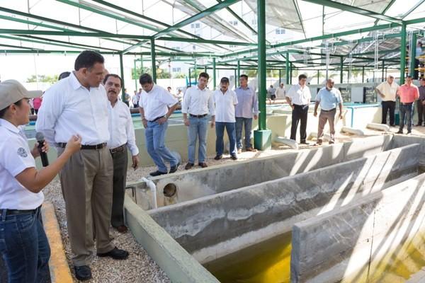 Rehabilitan planta de tratamiento de aguas residuales en fraccionamiento Altabrisa
