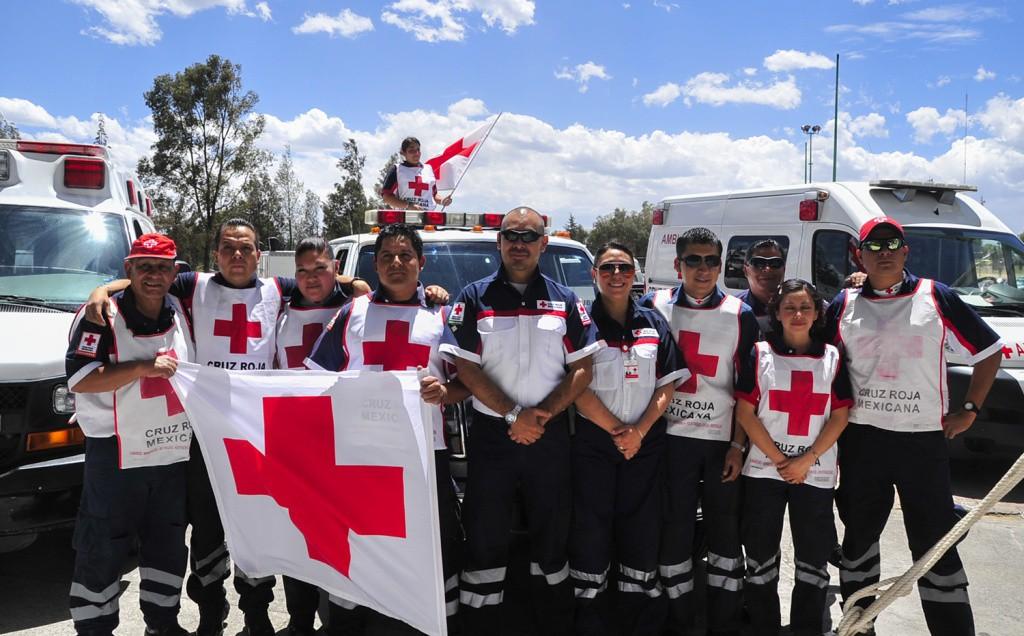 La cruz roja atendió a 50 personas durante el carnaval de Mérida 2015