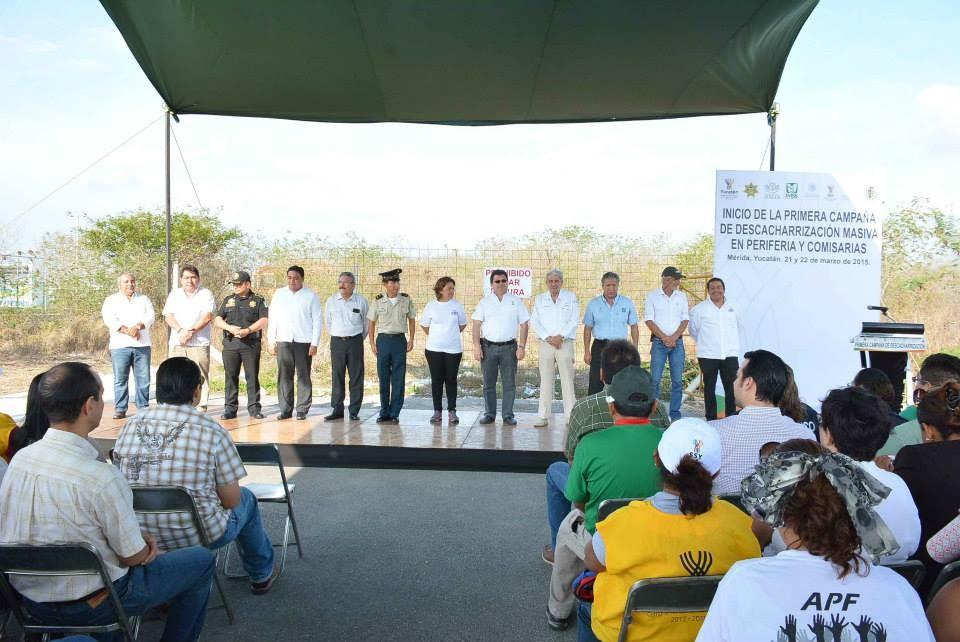 En marcha operativo de eliminación masiva de criaderos de moscos