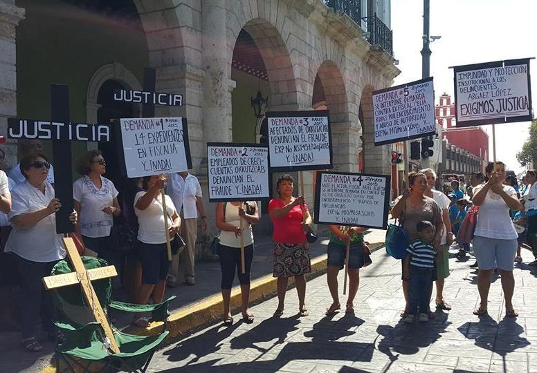 """Un año de manifestaciones por """"Crecicuentas"""""""