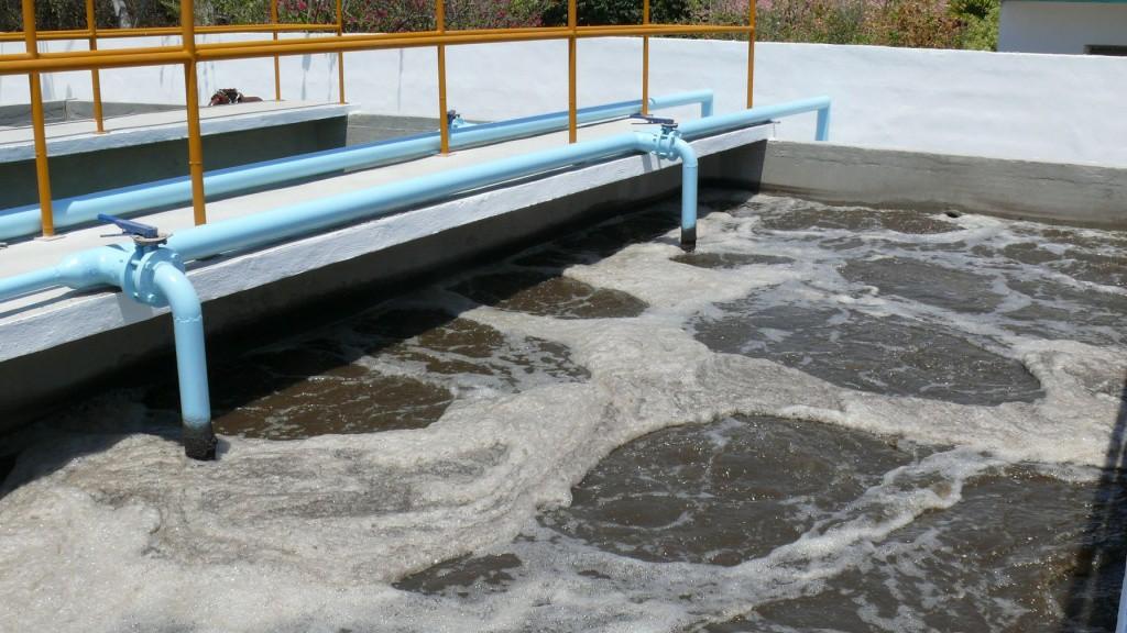 Inversión millonaria para el saneamiento de aguas residuales