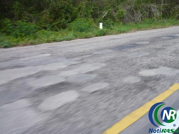 Parches en carretera Valladolid-Tizimín son en vano