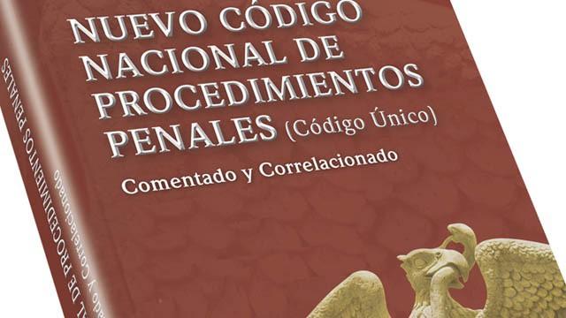 """Presentarán """"Código nacional de procedimientos penales"""""""