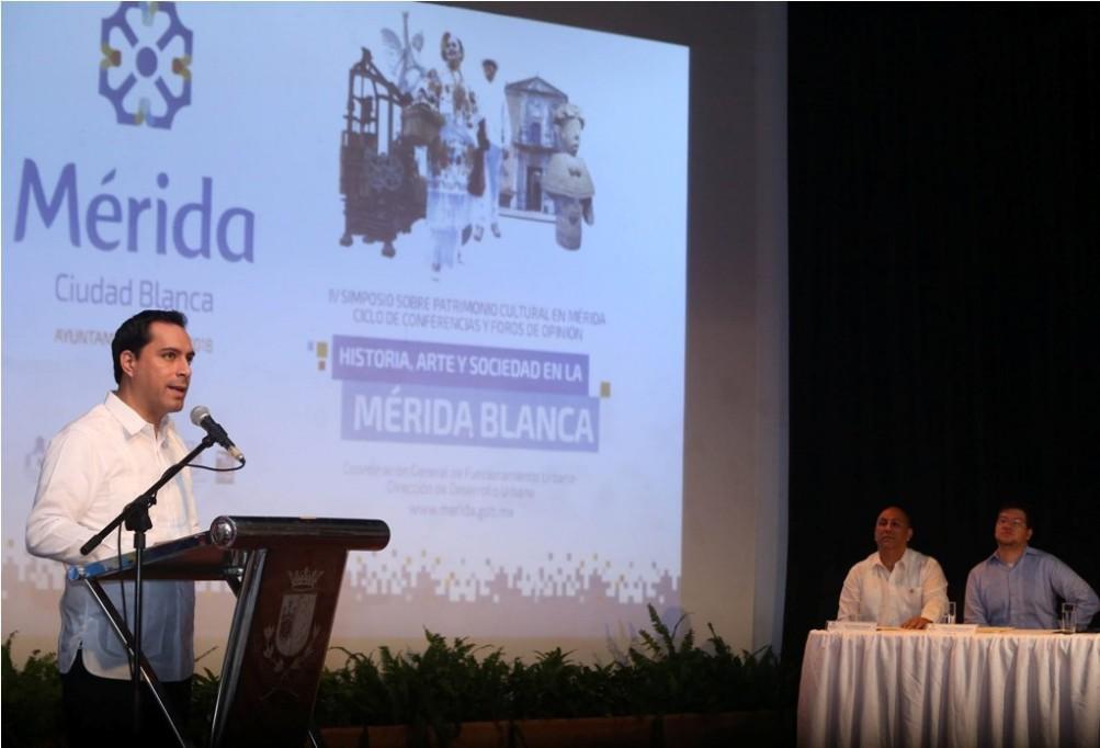 Realizan en Mérida simposio sobre Patrimonio Cultura
