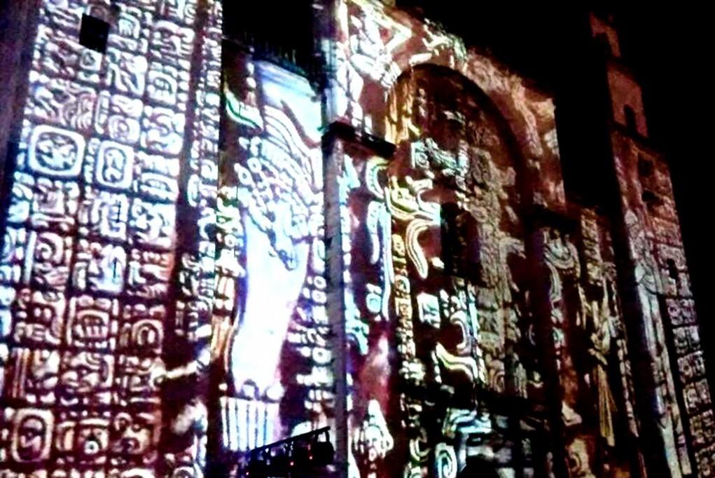 Reanudarán videomapping en la Catedral