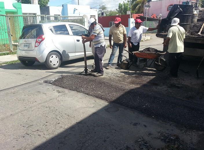 Piden reparación de tope peatonal, en Valladolid