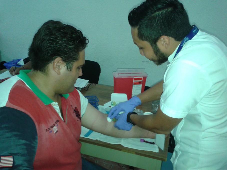 Tizimileños donan sangre