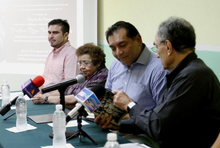 Presentan investigación sobre Rosa Torres