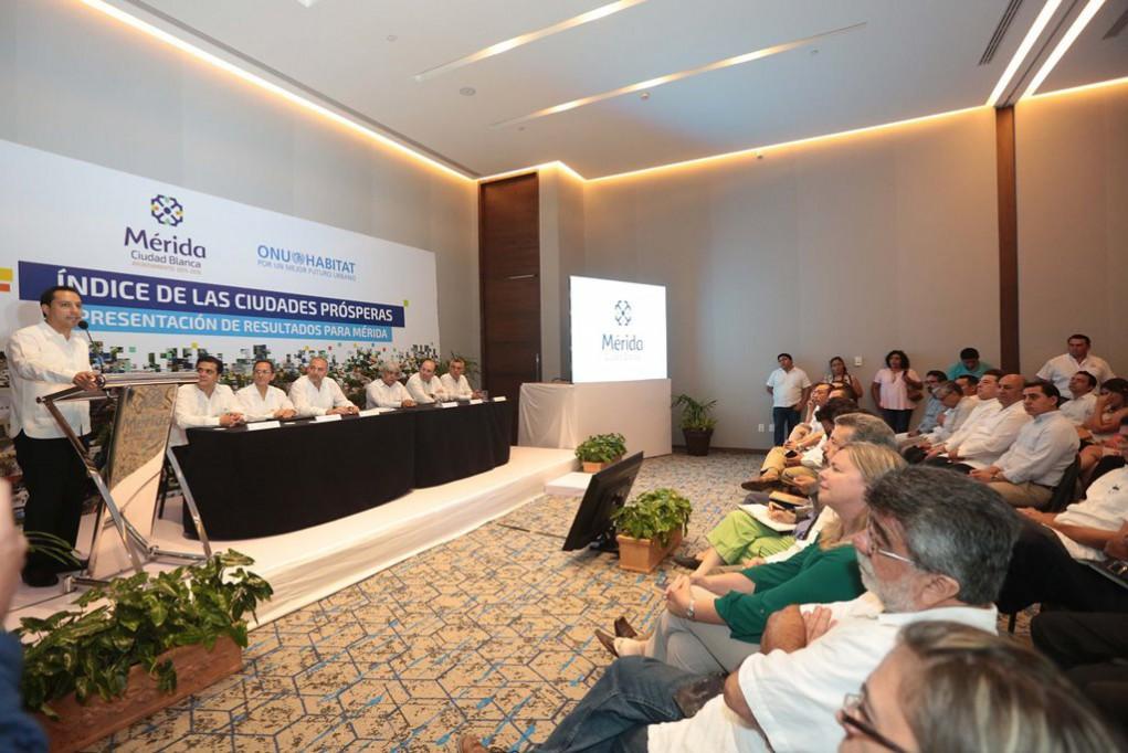 ONU-Hábitat presenta el Índice de Ciudades Prósperas para Mérida
