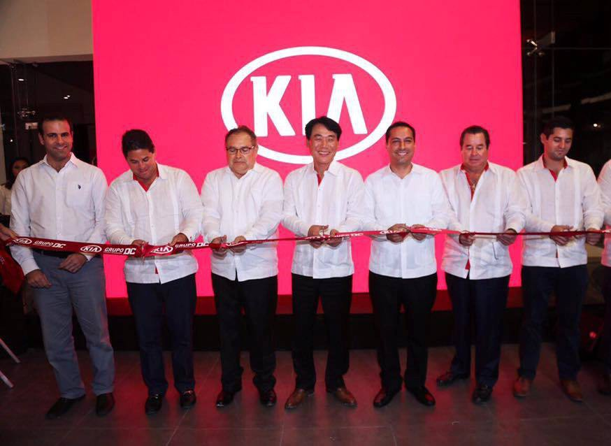 Kia inaugura su segunda sucursal en Mérida