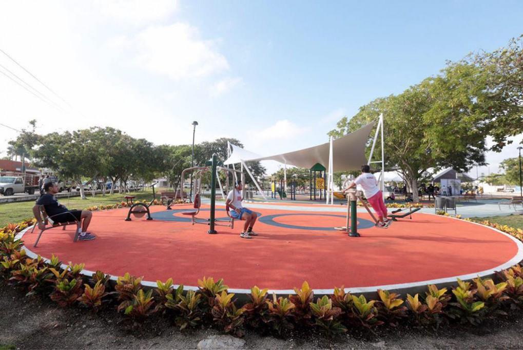 A buen ritmo las obras en parques públicos