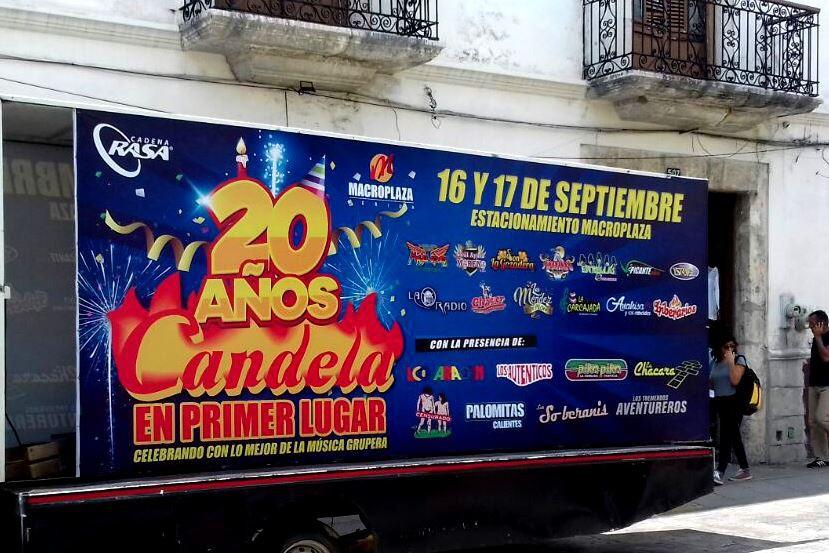 Candela celebra 20 años en primer lugar