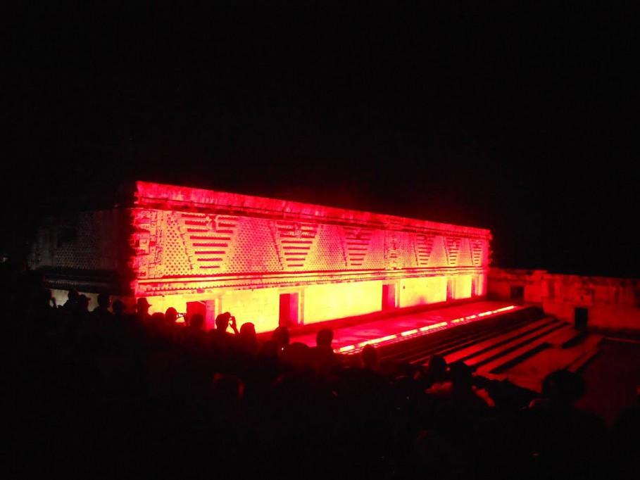 Buscan renovar espectáculo de luz y sonido en Uxmal