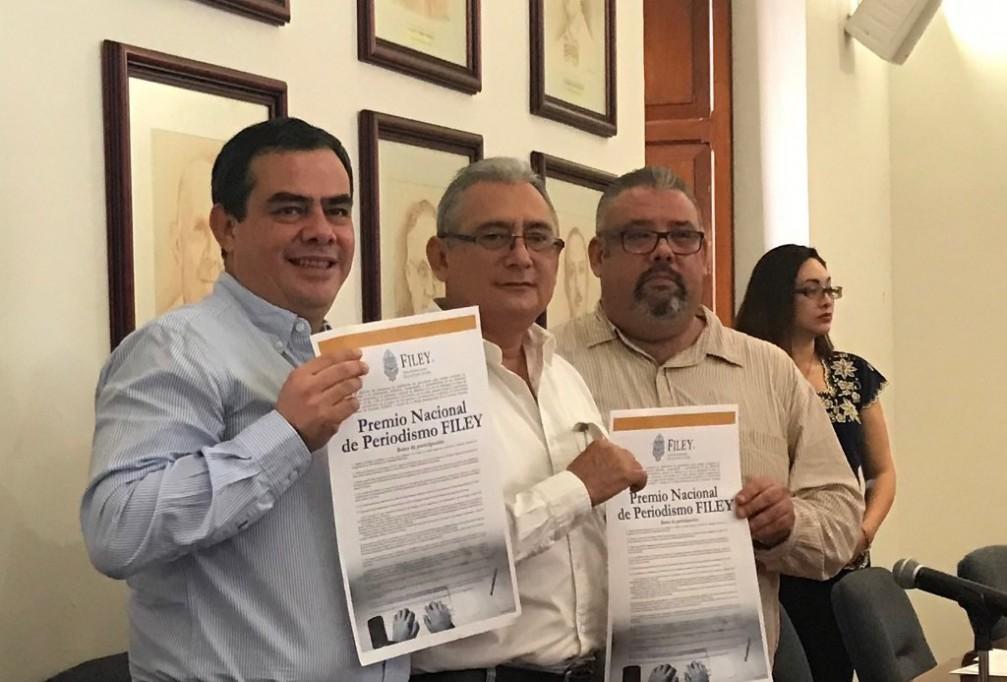 Abre convocatoria el Premio Nacional de Periodismo FILEY