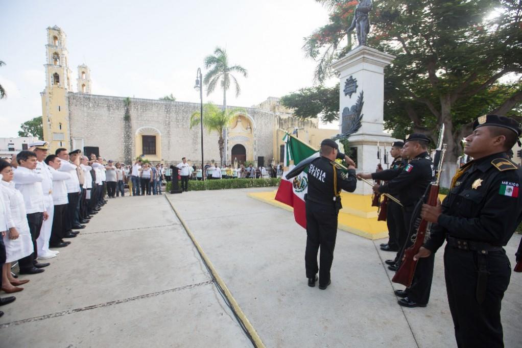 Conmemoran fallecimiento de Benito Juárez