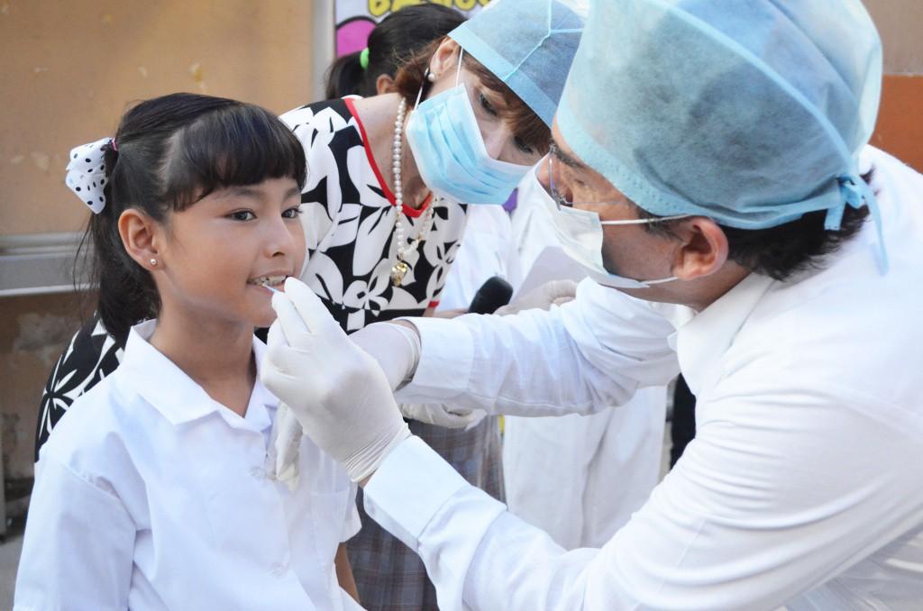 Realizan la Segunda Semana Nacional de Salud  Bucal