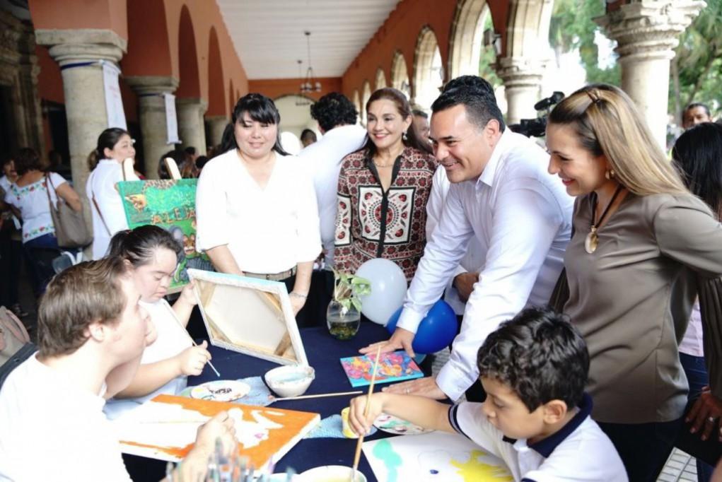 4.5% de la población en Mérida tiene alguna discapacidad