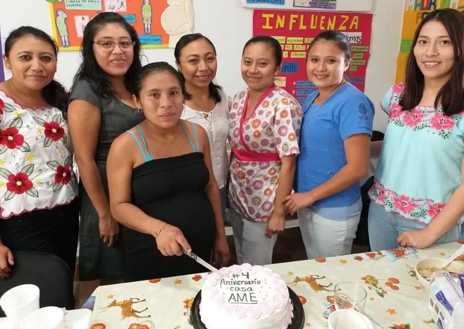 Posada AME Tizimín 4 años brindando atención a mujeres embarazadas y puérperas
