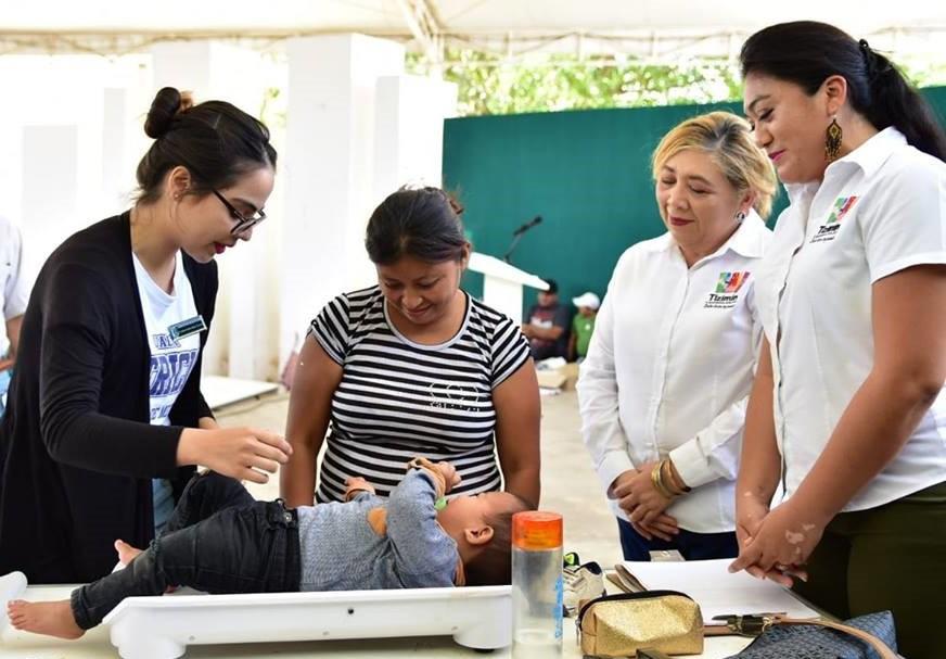 Combatirán la desnutrición en niños de Tizimín