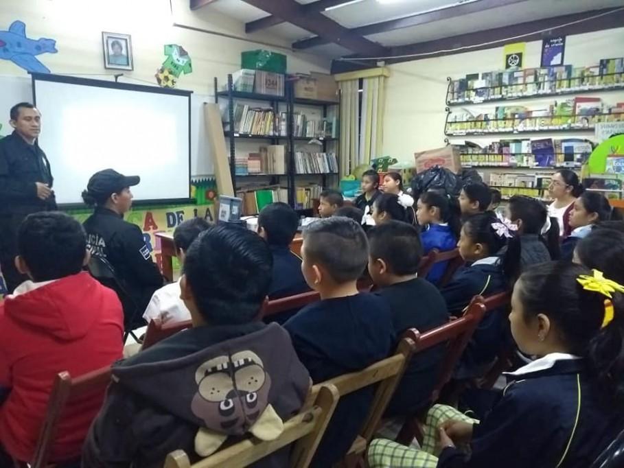 Fomentan cultura vial en escuelas primarias de Tizimín