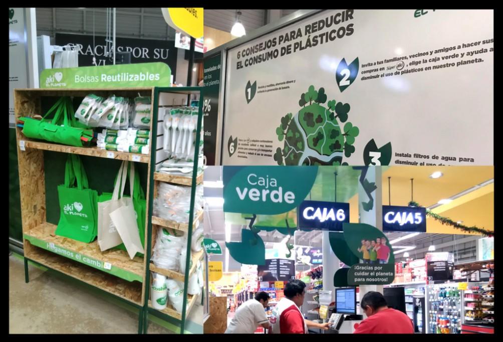 "Súper AKI presenta la ""Caja Verde"""