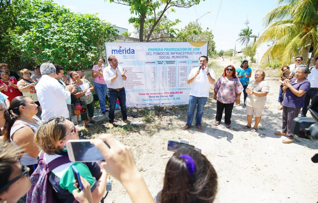 Anuncian más de 500 obras para Mérida