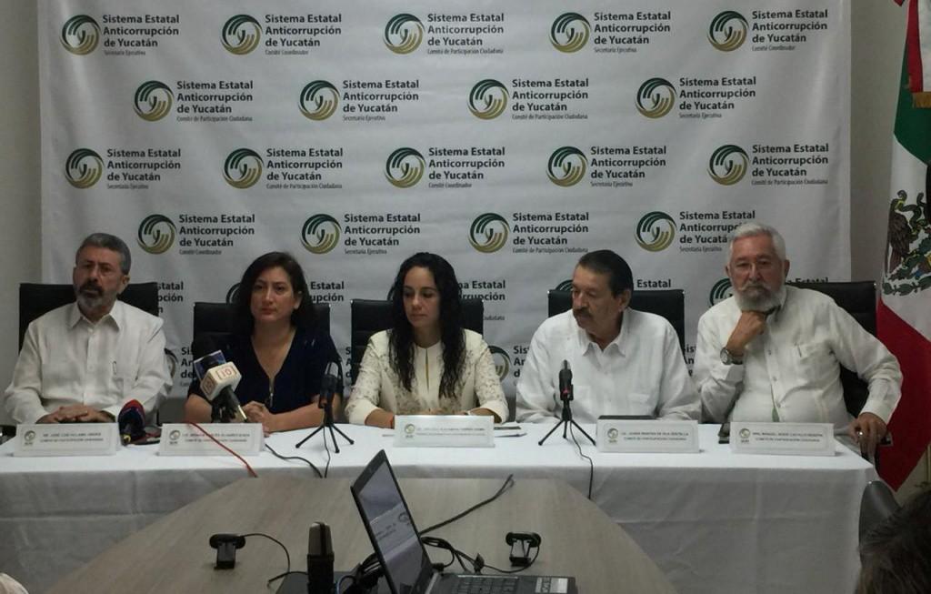 Presentan al nuevo Comité ciudadano anticorrupción
