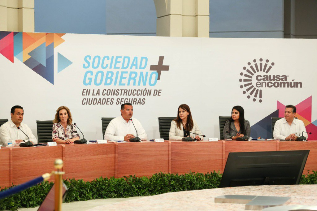 Realizan encuentro sobre Ciudades Seguras en Mérida