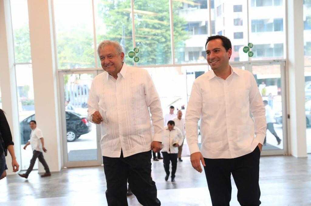 Hoy, AMLO visita Yucatán