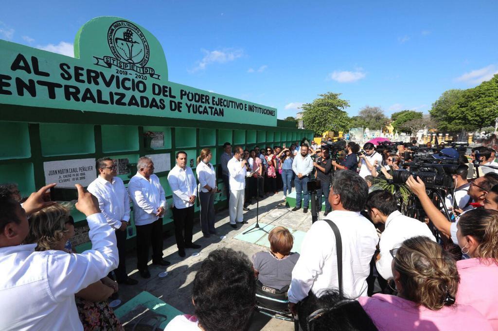 Conmemoran el Día del Servidor Público