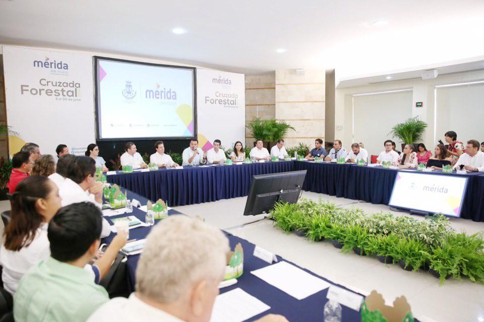 Del 2 al 30 de junio, Cruzada Forestal en Mérida