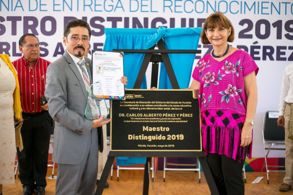 Carlos Alberto Pérez, Maestro Distinguido 2019
