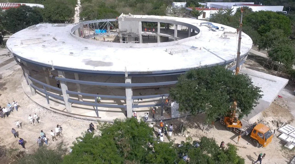 Casi listo el Museo del Cráter de Chicxulub