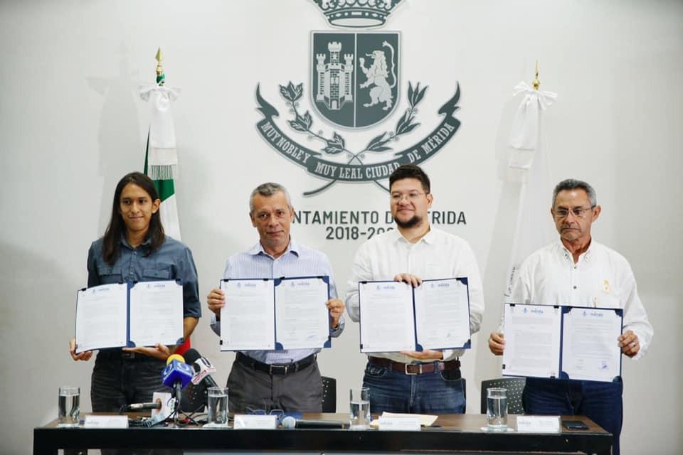 Promueven conservación del Patrimonio Histórico de Mérida