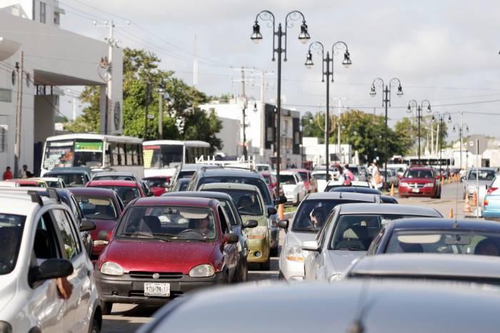 Aumenta el parque vehicular en Yucatán