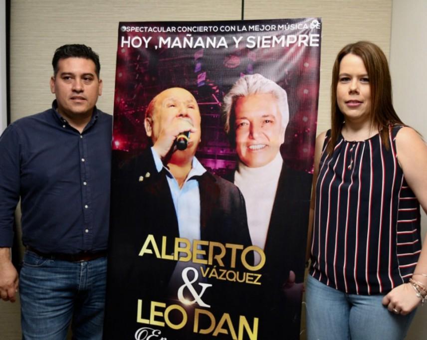 Leo Dan y Alberto Vázquez ¡en concierto!