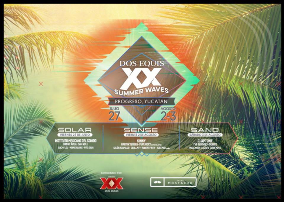 Anuncian el XX Summer Waves